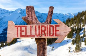 About Us Telluride Sign