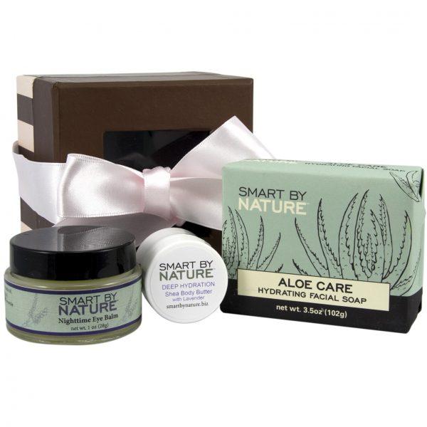 Moisturizing Eye Balm Shea Butter Gift Set