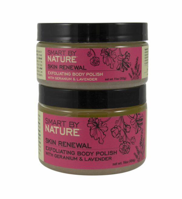 Lavender Geranium Mineral Bath Salts Body Polish