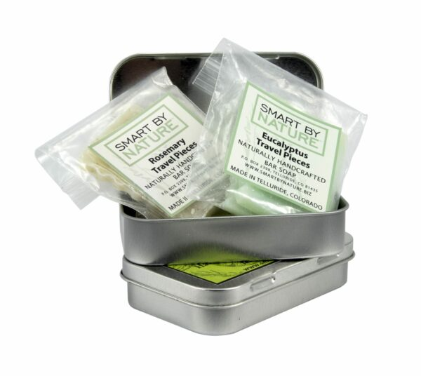 Travel Tin with Travel Soap from Smart By Nature