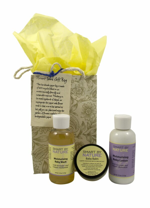 Lavender Chamomile Baby Wash Gift Set